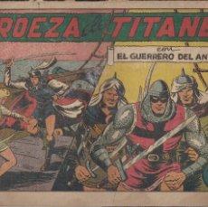 Tebeos: EL GUERRERO DEL ANTIFAZ Nº 90: PROEZA DE TITANES. Lote 207193397