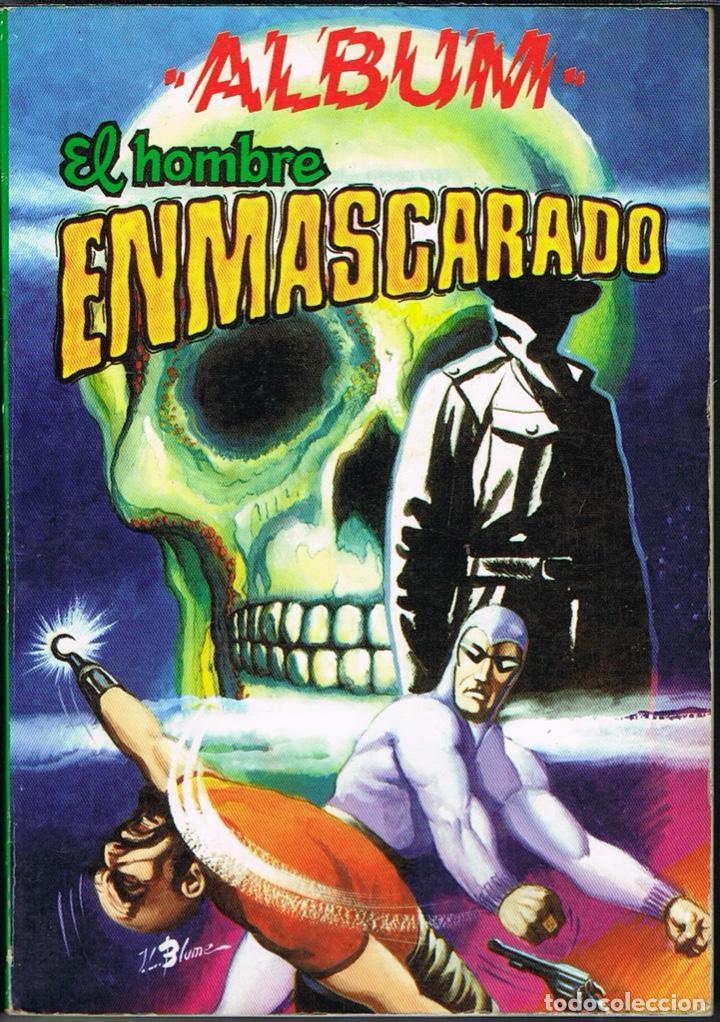 EL HOMBRE ENMASCARADO ALBUM 4 (CONTIENE LOS NUMEROS 31 AL 34) (Tebeos y Comics - Valenciana - Otros)
