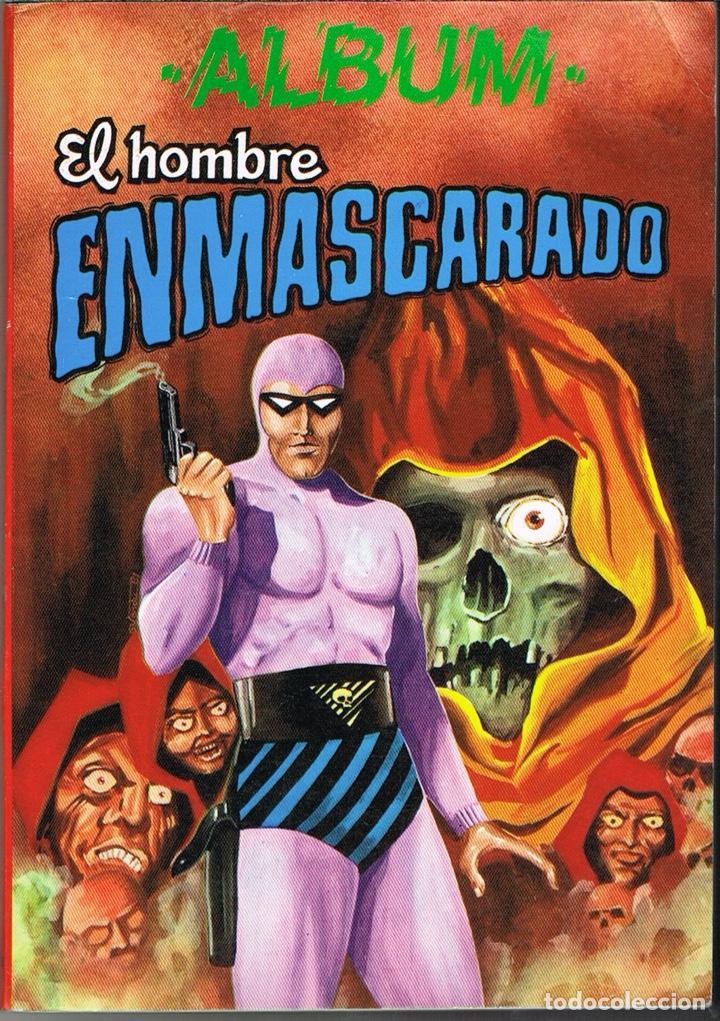 EL HOMBRE ENMASCARADO ALBUM 6 (CONTIENE LOS NUMEROS 39 AL 42) (Tebeos y Comics - Valenciana - Otros)