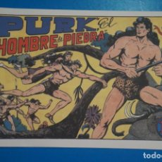 Tebeos: COMIC DE PURK EL HOMBRE DE PIEDRA Nº 1 EDITORIAL VALENCIANA*** LOTE 20 A. Lote 207198383