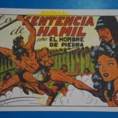 Tebeos: COMIC DE PURK EL HOMBRE DE PIEDRA LA SENTENCIA DE HAMIL Nº 7 EDITORIAL VALENCIANA***LOTE 4 C. Lote 207199642
