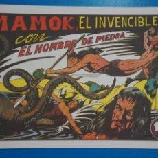 Livros de Banda Desenhada: COMIC DE PURK EL HOMBRE DE PIEDRA MAMOK EL INVENCIBLE Nº 5 EDITORIAL VALENCIANA***LOTE 20 B. Lote 207200026