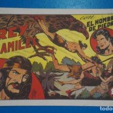 Tebeos: COMIC DE PURK EL HOMBRE DE PIEDRA EL REY DE LOS HAMILES Nº 6 EDITORIAL VALENCIANA*** LOTE 4 C. Lote 207200086