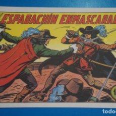 Tebeos: COMIC DE EL ESPADACHIN ENMASCARADO Nº 1 EDITORIAL VALENCIANA*** LOTE 20 A. Lote 207200288