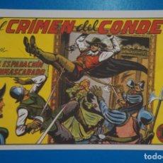 Tebeos: COMIC DE EL ESPADACHIN ENMASCARADO EL CRIMEN DEL CONDE Nº 3 EDITORIAL VALENCIANA*** LOTE 20 A. Lote 207200861