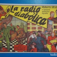 Tebeos: COMIC DE ROBERTO ALCAZAR LA RADIO DIABOLICA Nº 5 EDITORIAL VALENCIANA*** LOTE 20 A. Lote 207203460