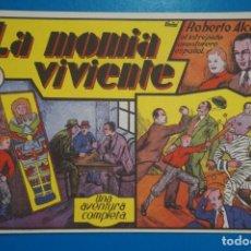 Tebeos: COMIC DE ROBERTO ALCAZAR LA MOMIA VIVIENTE Nº 6 EDITORIAL VALENCIANA*** LOTE 20 A. Lote 207203548