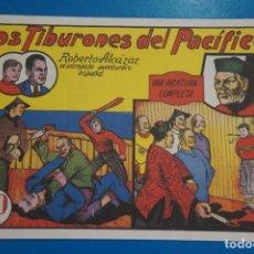 Tebeos: COMIC DE ROBERTO ALCAZAR LOS TIBURONES DEL PACIFICO Nº 7 EDITORIAL VALENCIANA*** LOTE 20 A. Lote 207203677