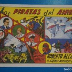 Tebeos: COMIC DE ROBERTO ALCAZAR LOS PIRATAS DEL AIRE Nº 1 EDITORIAL VALENCIANA*** LOTE 20 B. Lote 207203958