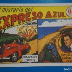 Tebeos: COMIC DE ROBERTO ALCAZAR EL MISTERIO DEL EXPRESO AZUL Nº 3 EDITORIAL VALENCIANA*** LOTE 20 B. Lote 207204101