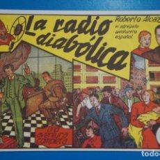 Tebeos: COMIC DE ROBERTO ALCAZAR LA RADIO DIABOLICA Nº 5 EDITORIAL VALENCIANA*** LOTE 20 B. Lote 207204262