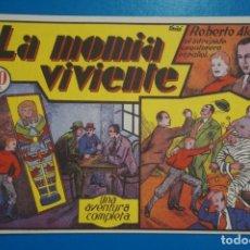 Tebeos: COMIC DE ROBERTO ALCAZAR LA MOMIA VIVIENTE Nº 6 EDITORIAL VALENCIANA*** LOTE 20 B. Lote 207204333