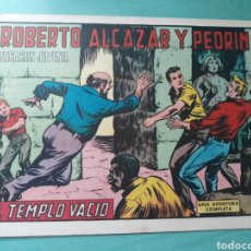Tebeos: ROBERTO ALCÁZAR Y PEDRIN. EL TEMPLO VACIO N°968. Lote 207321373