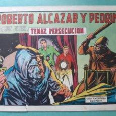 Tebeos: ROBERTO ALCÁZAR Y PEDRIN. TENAZ PERSECUCIÓN N°989. Lote 207324452