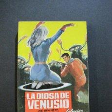 Tebeos: LUCHADORES DEL ESPACIO-LA DIOSA DE VENUSIO-EDITORIAL VALENCIANA-AÑO 1959-VER FOTOS-(V-20.411). Lote 207655418