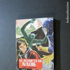 Tebeos: LUCHADORES DEL ESPACIO-EL PLANETA DE NADIE-EDITORIAL VALENCIANA-AÑO 1960-VER FOTOS-(V-20.412). Lote 207655701