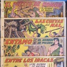 Tebeos: COM-234. PURK, EL HOMBRE DE PIEDRA. 9 CUADERNOS. EDIT. VALENCIANA. ORIGINALES. NÚMEROS CONSECUTIVOS.. Lote 207781813