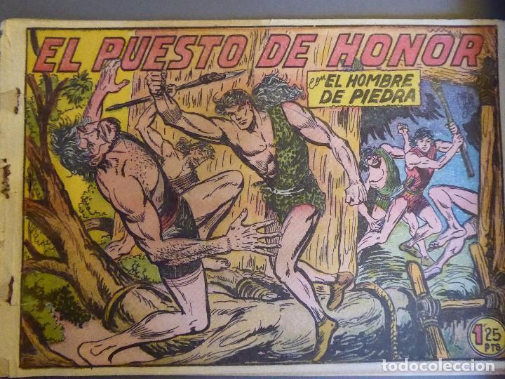 Tebeos: COM-234. PURK, EL HOMBRE DE PIEDRA. 9 CUADERNOS. EDIT. VALENCIANA. ORIGINALES. NÚMEROS CONSECUTIVOS. - Foto 11 - 207781813