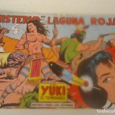 Tebeos: YUKI Nº 53 MISTERIO EN LA LAGUNA ROJA. Lote 207839782