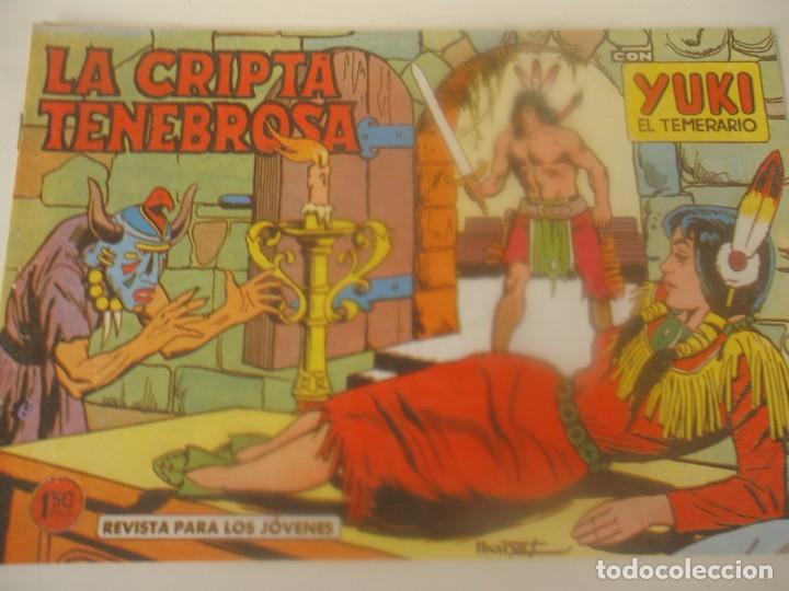 YUKI Nº 55 LA CRIPTA TENEBROSA (Tebeos y Comics - Valenciana - Otros)
