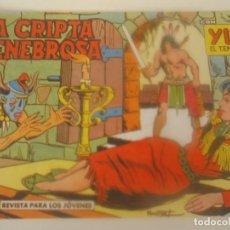 Tebeos: YUKI Nº 55 LA CRIPTA TENEBROSA. Lote 207839871