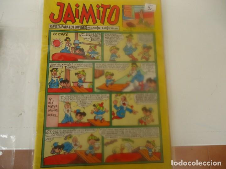 JAIMITO Nº 860 (Tebeos y Comics - Valenciana - Jaimito)