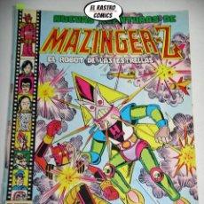Tebeos: MAZINGER Z Nº 4, NUEVAS AVENTURAS DE, ED. VALENCIANA, AÑO 1979, A, 6B. Lote 208083766