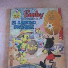 Tebeos: LIBROS ILUSTRADOS PUMBY Nº 37. EL EJERCITO INVISIBLE.. Lote 208097856