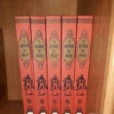 Tebeos: EL GUERRERO DEL ANTIFAZ. EDITORIAL VALENCIANA 1979, NUEVAS AVENTURAS-5 TOMOS. Lote 254106315
