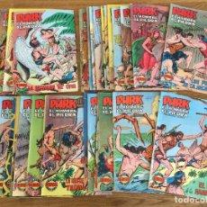 Livros de Banda Desenhada: ¡ LOTE LIQUIDACION ! - 42 EJEMPLARES PURK, EL HOMBRE DE PIEDRA - VALENCIANA, ORIGINAL - GCH1. Lote 208361143