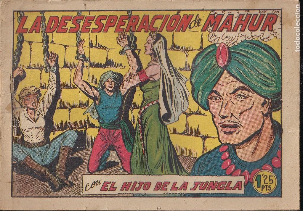 EL HIJO DE LA JUNGLA Nº 5: LA DESESPERACION DE MAHUR (Tebeos y Comics - Valenciana - Hijo de la Jungla)