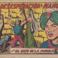Tebeos: EL HIJO DE LA JUNGLA Nº 5: LA DESESPERACION DE MAHUR. Lote 208479127