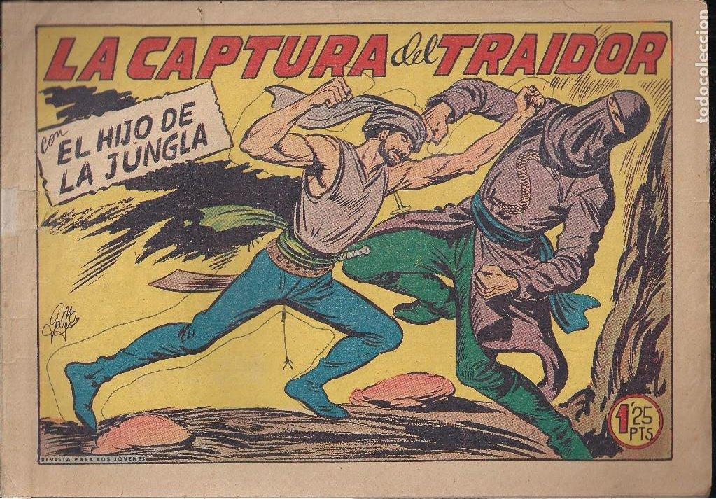 EL HIJO DE LA JUNGLA Nº 23: LA CAPTURA DEL TRAIDOR (Tebeos y Comics - Valenciana - Hijo de la Jungla)