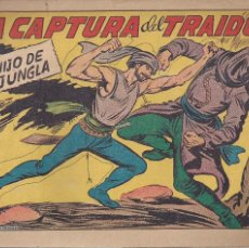 Tebeos: EL HIJO DE LA JUNGLA Nº 23: LA CAPTURA DEL TRAIDOR. Lote 208479260