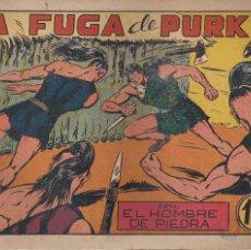 Tebeos: EL HOMBRE DE PIEDRA Nº 19: LA FUGA DE PURK. Lote 208479543