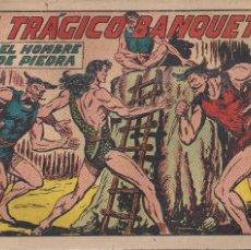 Tebeos: EL HOMBRE DE PIEDRA Nº 176: EL TRAGICO BANQUETE. Lote 208479757