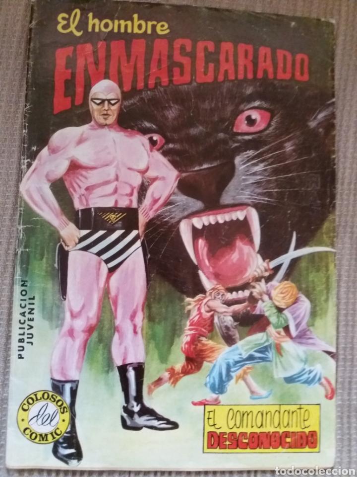 EL HOMBRE ENMASCARADO-EL COMANDANTE DESCONOCIDO- (Tebeos y Comics - Valenciana - Colosos del Comic)