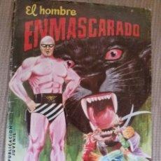 Tebeos: EL HOMBRE ENMASCARADO-EL COMANDANTE DESCONOCIDO-. Lote 208805766