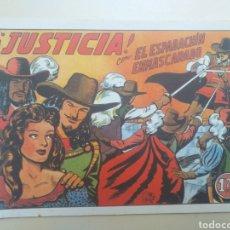 Tebeos: EL ESPADACHÍN ENMASCARADO FACSÍMIL - JUSTICIA - ED. VALENCIANA N°4. Lote 208968090