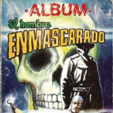 """Tebeos: 3 ÁLBUMES """"EL HOMBRE ENMASCARADO"""" Nº 3, 4 Y 5. (CONTIENE 12 CÓMICS Nº 27 A 38). EV. 1980. Lote 209022625"""