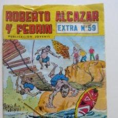 BDs: ROBERTO ALCAZAR Y PEDRIN EXTRA Nº 59 VALENCIANA MUCHOS MAS EN VENTA SD01. Lote 209027285