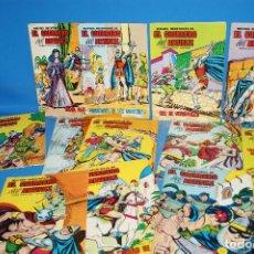 Giornalini: LOTE 12 COMICS LAS NUEVAS AVENTURAS DE EL GUERRERO DEL ANTIFAZ (1980). Lote 208326237