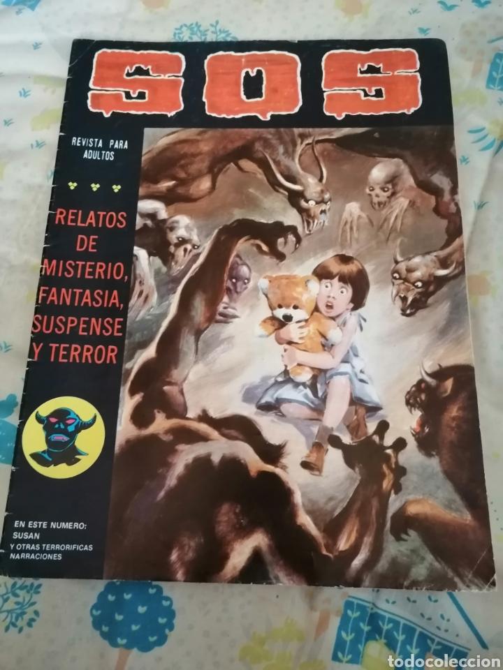 CÓMIC SOS. AÑO 1981. TERROR (Tebeos y Comics - Valenciana - S.O.S)