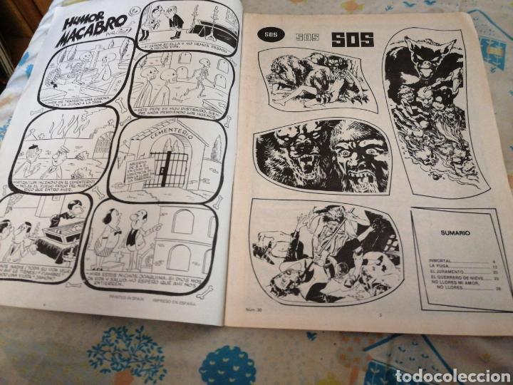 Tebeos: Cómic SOS. AÑO 1982. TERROR. - Foto 2 - 209351718