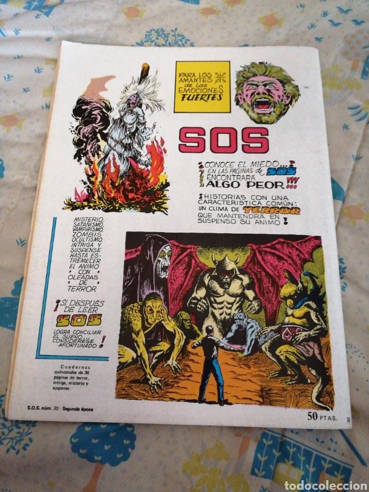 Tebeos: Cómic SOS. AÑO 1982. TERROR. - Foto 7 - 209351718