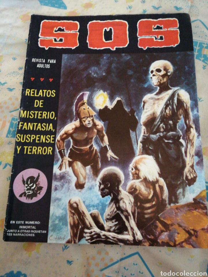 CÓMIC SOS. AÑO 1982. TERROR. (Tebeos y Comics - Valenciana - S.O.S)