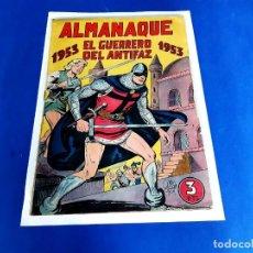 Tebeos: ELGUERRERO DEL ANTIFAZ ALMANAQUE 1953 -ORIGINAL. Lote 209619063