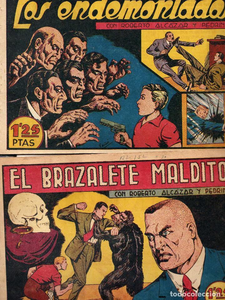 Tebeos: ROBERTO, ALCAZAR Y PEDRIN 1ª EPOCA DE 1 PTA Y I,25 - Foto 2 - 209619183