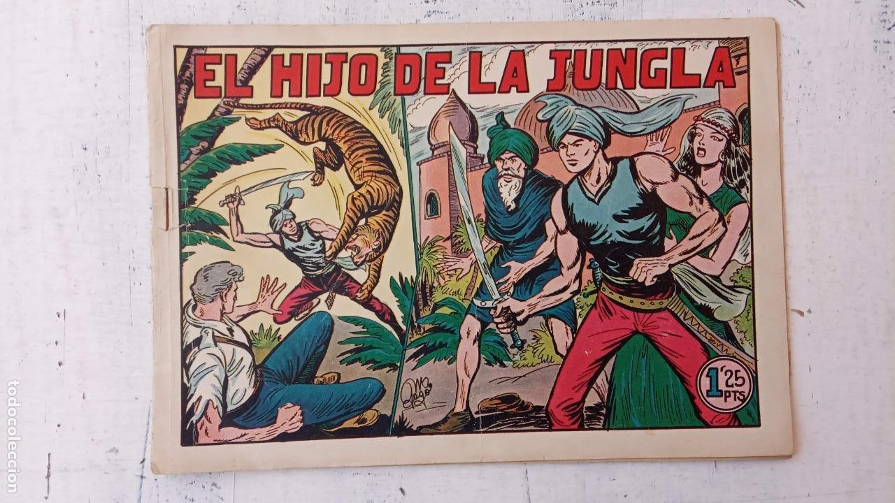 EL HIJO DE LA JUNGLA Nº 1 ORIGINAL EDI. VALENCIANA AÑOS 50 (Tebeos y Comics - Valenciana - Hijo de la Jungla)