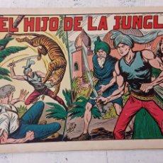Tebeos: EL HIJO DE LA JUNGLA Nº 1 ORIGINAL EDI. VALENCIANA AÑOS 50. Lote 209629560